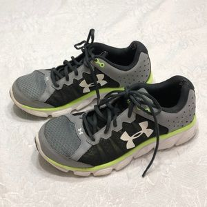 Under Armour Micro gray sneakers size 9